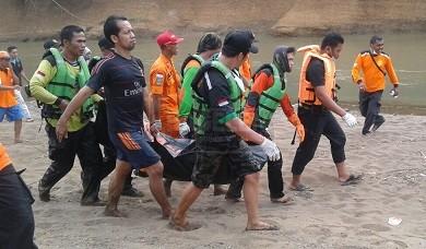 Jenazah Misgiyanto Ditemukan Tersangkut Pohon Pisang