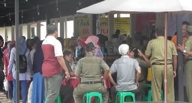 28 PKL Alun-alun Kini Tak Berhak Masuk Taman Kuliner