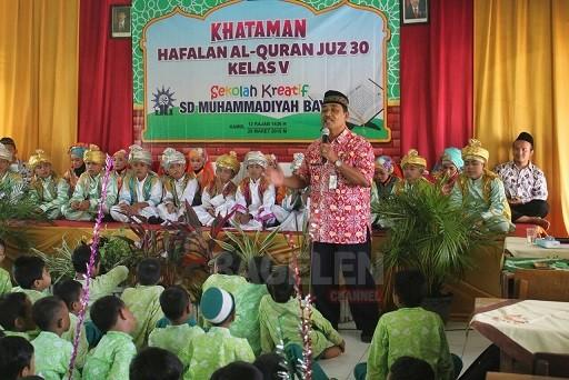 SD Muhammadiyah Bayan Gelar Khataman Tahfidz Quran