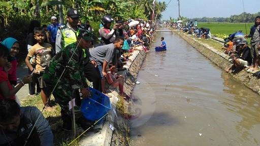 Ribuan Orang Ikuti Lomba Mancing di Saluran Irigasi Kutoarjo