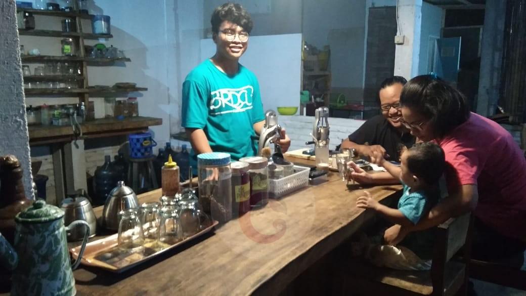 Angkat Kopi Lokal Purworejo, Kedai Pekarangan Jadi Rujukan Pecinta Kopi