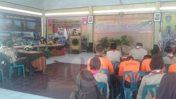 Kwarda Jateng Apresiasi Pramuka di Purworejo