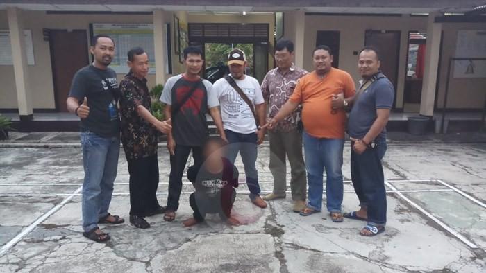 Bobol Toko Besi AS Alias Bandit Dibekuk Polisi