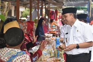 Pasar Ramadhan Joso Angkat UMKM dan Gerakkan Perekonomian Desa
