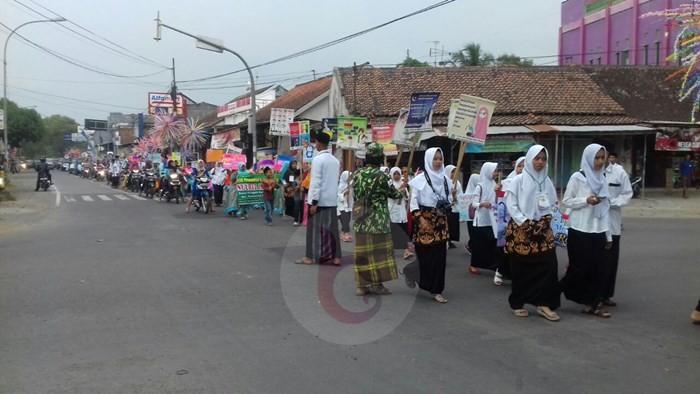 Jelang Ramadhan TPA Desa Purwodadi Gelar Pawai Ta'aruf