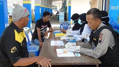Tekan Laka Akibat Narkoba Polres Purworejo Gelar Test Urine