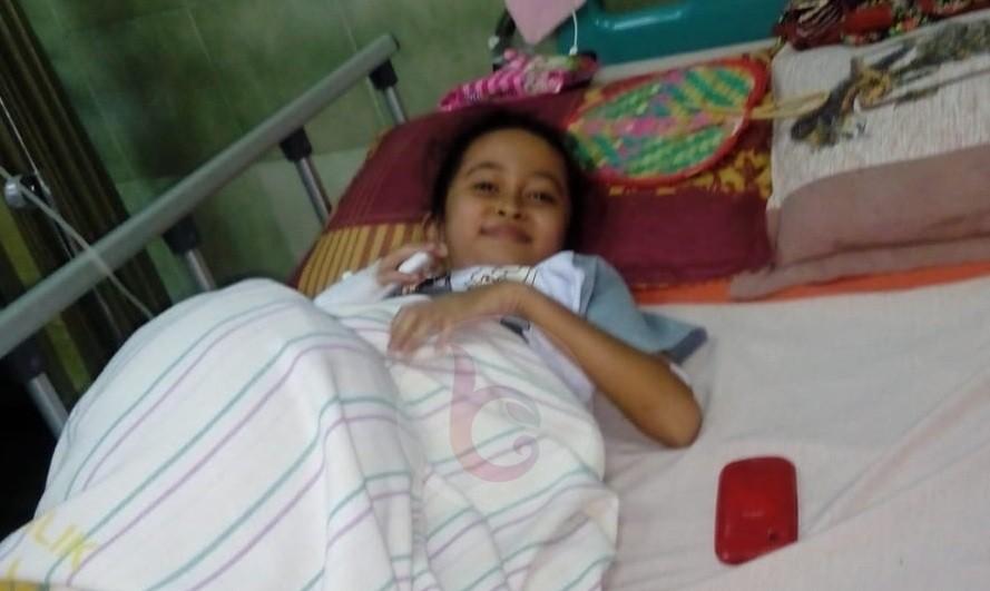 Kartika Anak 9 Tahun Pengidap Leukimia Akut Butuh Uluran Tangan