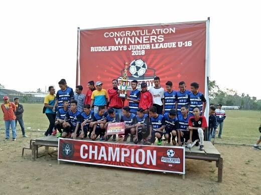 RGN Akademi Champion Rudolf Boys Junior League 2018