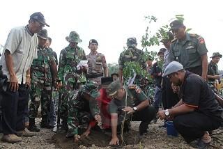 Kodim Bersama BG3 Lakukan Penghijauan Sedekah Lingkungan