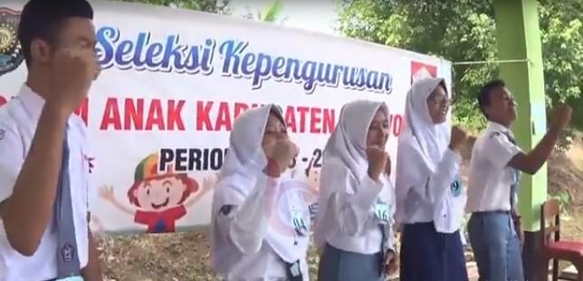 Puluhan Pelajar Ikuti Seleksi Pengurus Forum Anak Purworejo