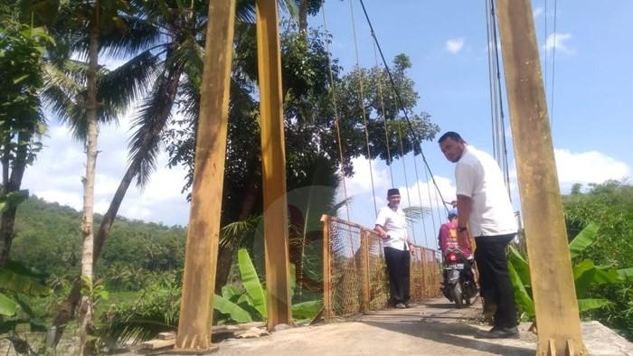 Buka Akses, Kalisemo Bangun Jembatan Permanen Tahun ini